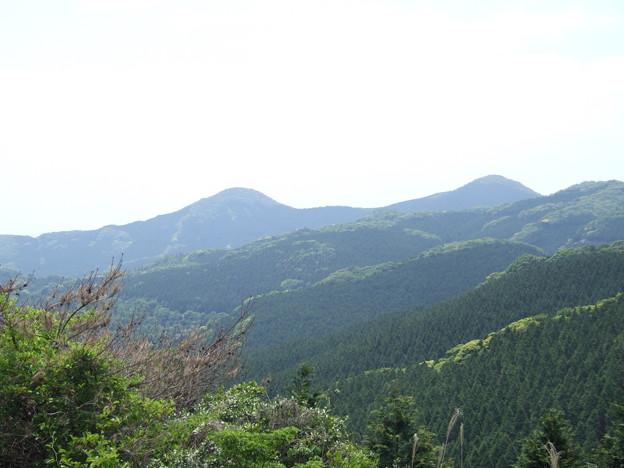 八郎岳と小八郎岳