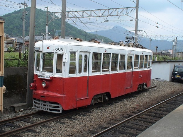 [ 1067mm ] Experimental battery tramcar