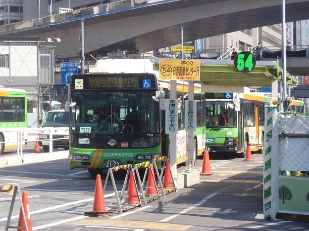 都営バス 学03 (渋谷駅東口にて) / Tokyo