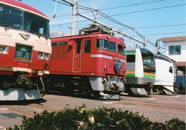 東京総合車両センター今年の展示車たち