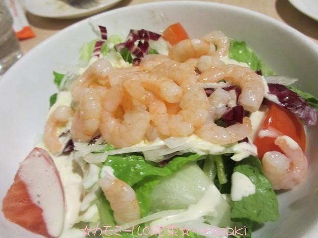 プリプリ小海老サラダ