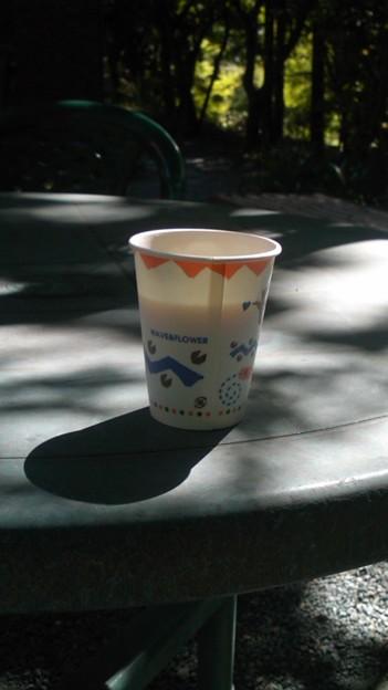 「美術館の・・コーヒーです・・」