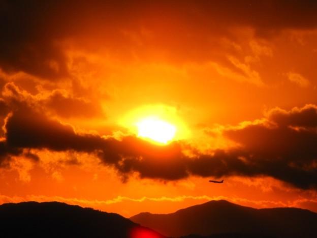 「冬の夕日・・」 です・・・・