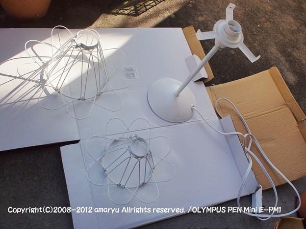 電気の傘DIY 304