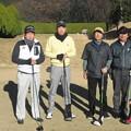 Photos: 足利城ゴルフ倶楽部忘年コンペに参加した、澁さん・幹事・親さん・松さん2013.12.12