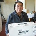 Photos: 足利城ゴルフ倶楽部忘年コンペに参加した、松さんは35位飛び賞!!2013.12.12
