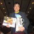 Photos: 足利城ゴルフ倶楽部忘年コンペに参加した親さんは見事ラッキーセブン!!2013.12.12