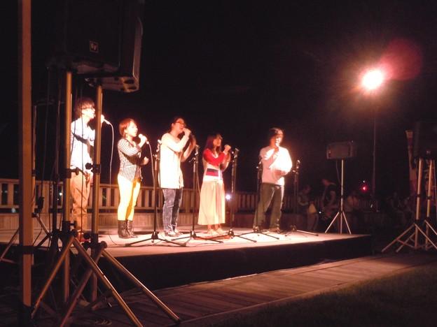 駅前海べりの夜空コンサート~SMAPの「ライオンハーツ」を歌う尾道大学音楽部~