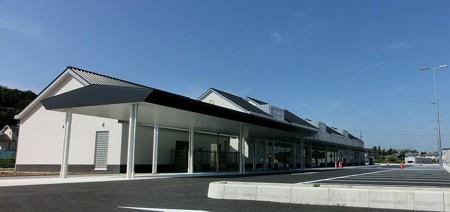 道の駅 藤川宿 2012年 12月開駅予定で施設準備中-241014-1