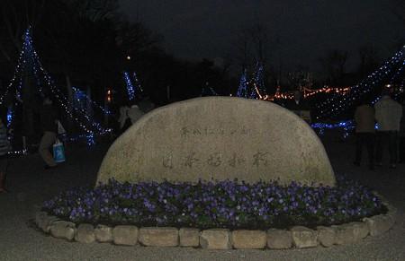 日本昭和村 クリスマスナイト 幻想的な昭和の里 2006a-181223-1