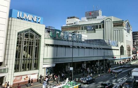 JR 新宿駅-241217-1