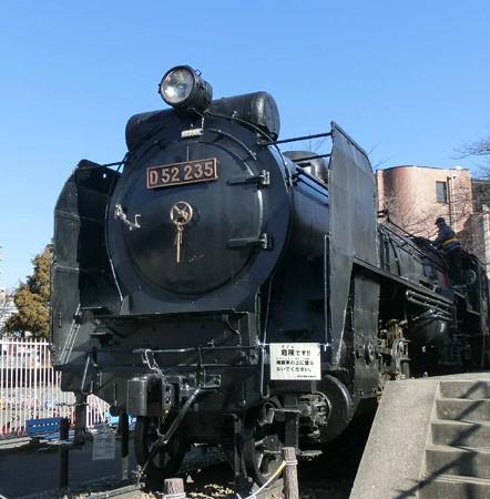 鹿沼公園 D52蒸気機関車-250210-1