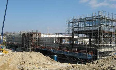 フィール瀬戸店(仮称) 2007年春 オープンへ建設中-190212-1