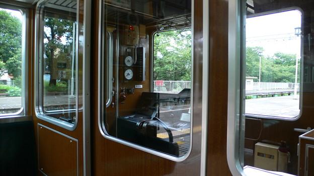 阪急 6300系 運転席