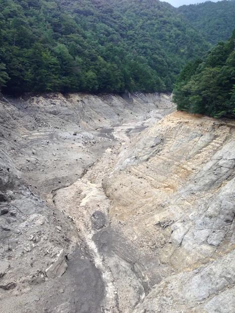宇連ダム2 貯水率3%