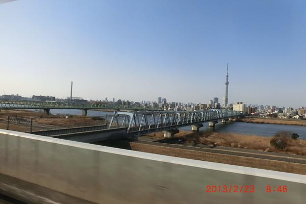京成押上線の橋梁