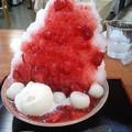 Photos: 生いちごかき氷+白玉+アイス