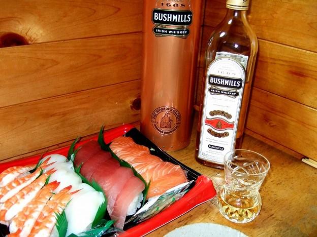 シスルグラスとアイリッシュウイスキー
