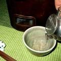 (3)錫のチロリ 酒は上燗の純米酒