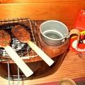 Photos: 焼き味噌と燗どうこ