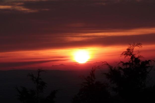 2013年富幕山へ今年☆トミー1回登頂