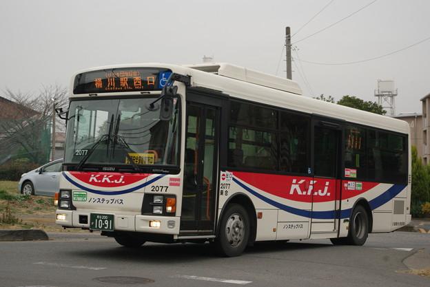 川越観光自動車 2077号車 エルガミオ