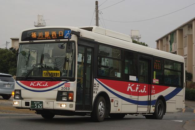 川越観光自動車 2053号車 エルガミオ