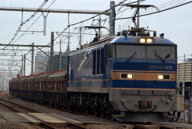 5781レ EF510-505+トキ
