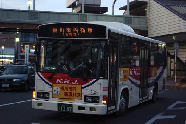 川越観光自動車 2024号車 レインボーRJ