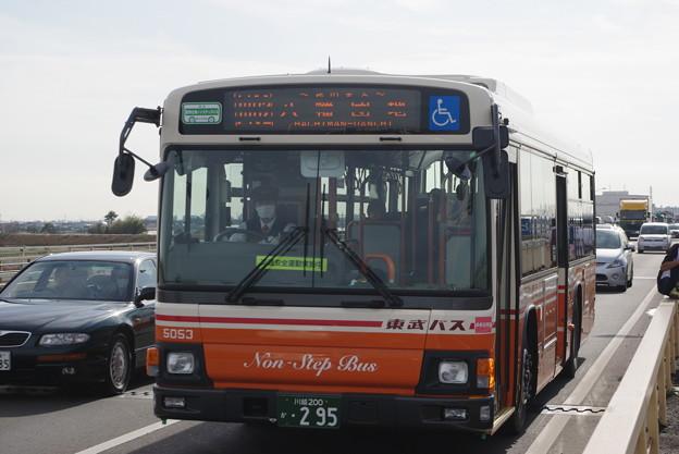 東武バスウエスト 5053号車 ブルーリボンII
