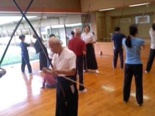 弓道体験。