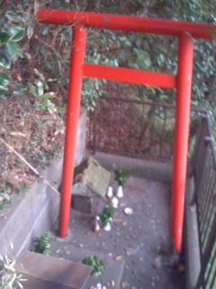 稲荷社(駒形神社)。