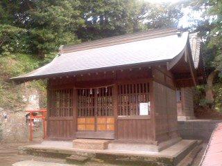 駒形神社 社殿。