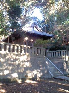 市場 八幡神社。