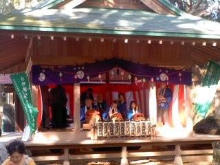 熊野神社 鎌倉囃子。
