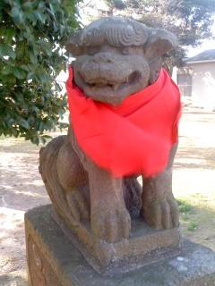 厳島神社 狛犬。