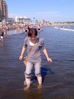 嫁と海へ(8月28日)