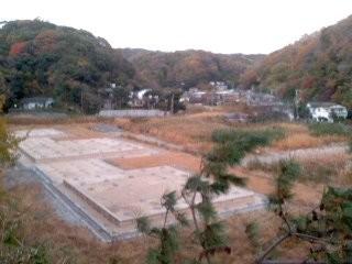 永福寺跡(11月30日)