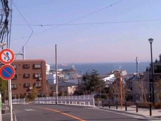 磯子台眺望(1月20日)
