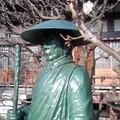 Photos: 親鸞聖人と梅(1月22日、成福寺)