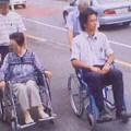 Photos: 車いす体験(平成25年8月3日)