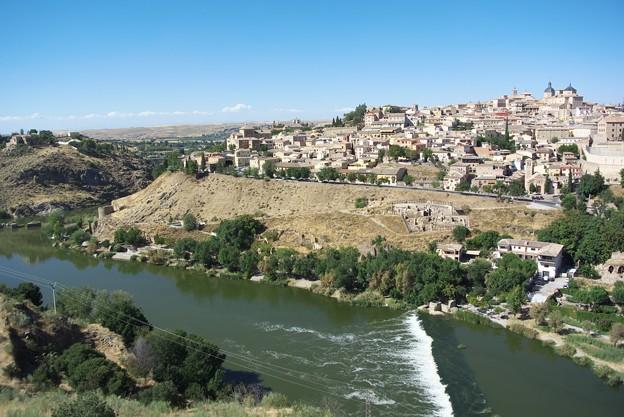 スペインの古都・トレドの景観(...