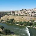 Photos: スペインの古都・トレドの景観(タホ川、北西方向)