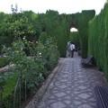 グラナダ:ヘネラリーフェ庭園
