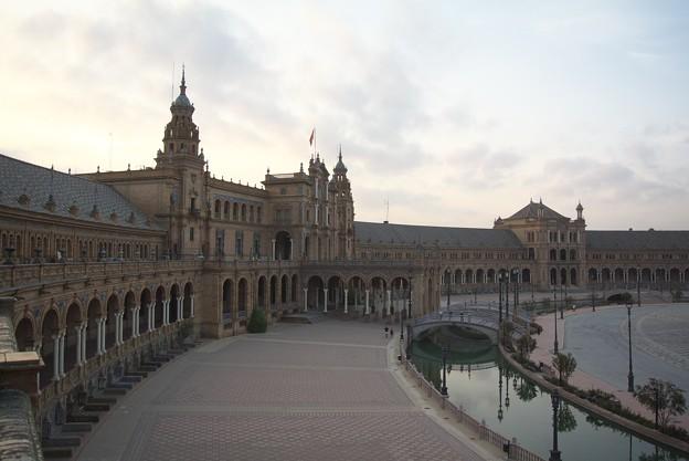 セビージャ:スペイン広場(スペイン)