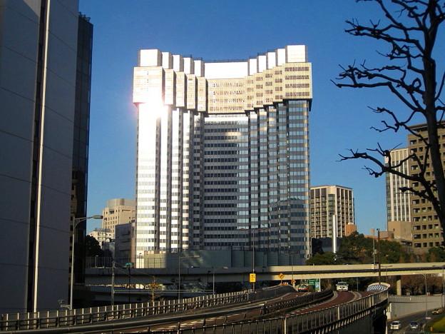解体中の赤坂プリンスホテル新館