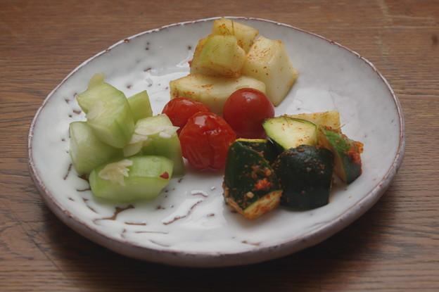 IMGP8801山口県産、夏野菜のお漬物