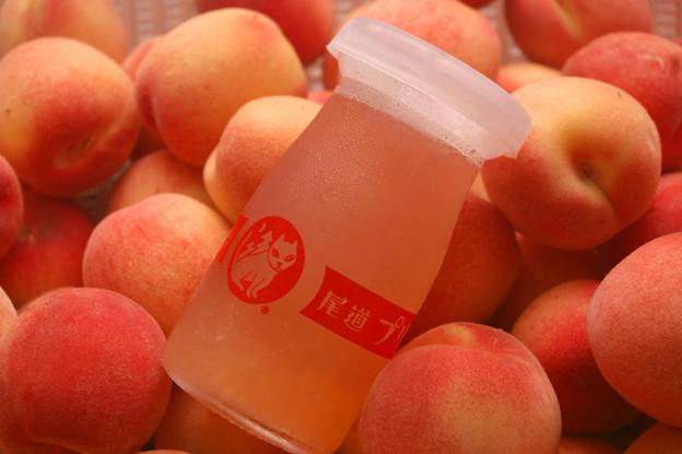 IMGP8807自作、桃のゼリー