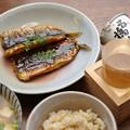 Photos: IMGP9595岩国市、五橋紙カップと鰯の蒲焼玄米ご飯