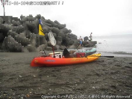 2013-06-30今度こそ初青物GET!! (2)